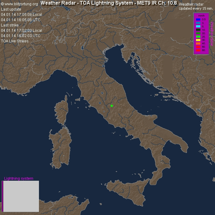Radar Nord Italia