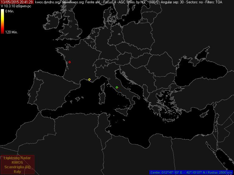 In my mind, in my head: Lightning radar RDF back on line